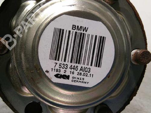 Transmissão trás direita BMW 3 Touring (E91) 320 d 7533446  8347342
