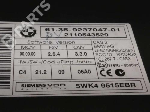Módulo eletrónico BMW 3 Touring (E91) 320 d 61359237047   13788934