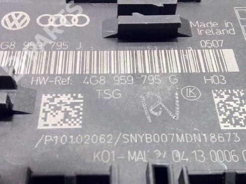 4G8959795G | Electronic Module A7 Sportback (4GA, 4GF) 3.0 TDI quattro (313 hp) [2011-2015] CGQB 2815909