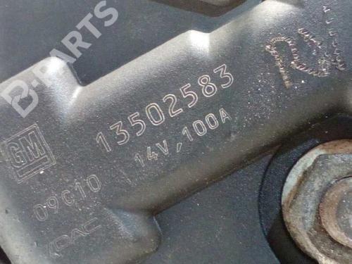 Generator OPEL INSIGNIA A (G09) 2.0 CDTI (68) 13502583 | 23535852