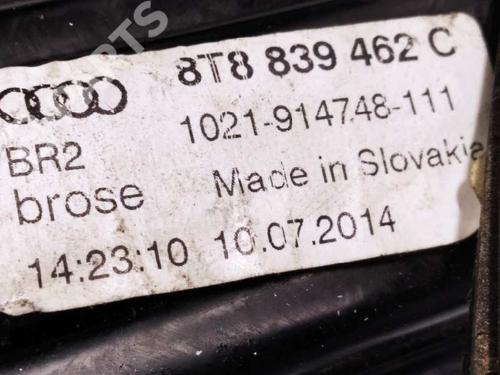 Rudehejsemekanisme Højre bagtil AUDI A5 Sportback (8TA) 2.0 TDI 8T8839462C | 8K0959801A | 34486334