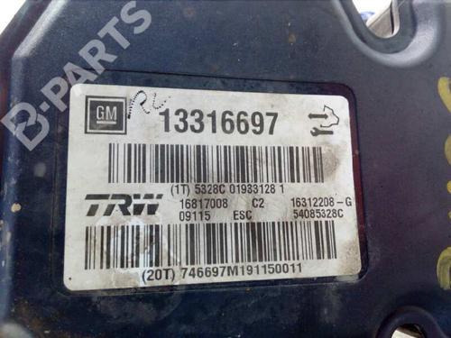 ABS Bremseaggregat OPEL INSIGNIA A (G09) 2.0 CDTI (68) 13316697 | 16312208G | 16817008 | 27609364