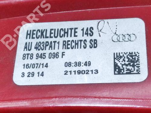 Venstre baglygte AUDI A5 Sportback (8TA) 2.0 TDI 8T8945096F | 34486370