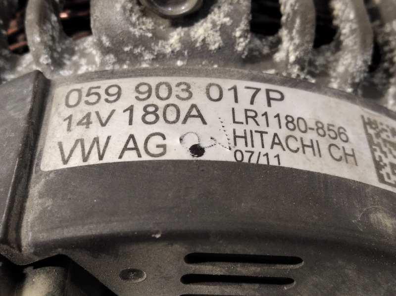 Lichtmaschine 180A Audi A6 3.0 TDI quattro ORIGINAL HITACHI 059903017P