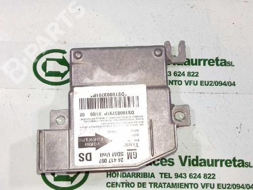 24417007 Kollisjonspute styreenhet CORSA C (X01) 1.0 (F08, F68) (58 hp) [2000-2003] Z 10 XE 1408276