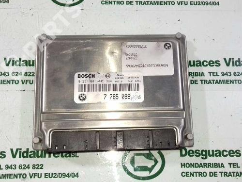 7785098 Centralina do motor 3 Touring (E46) 320 d (136 hp) [2000-2001] M47 D20 (204D1) 1587862