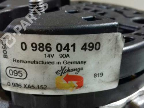 Alternator 0986041490 AUDI, A3 (8L1) 1.9 TDI(5 doors) (110hp) ASZ, 1997-1998-1999-2000-2001 14872992