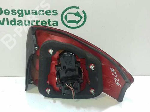 Left Taillight  AUDI, A6 (4B2, C5) 2.4(4 doors) (165hp) AGA, 1997-1998-1999-2000-2001-2002-2003-2004-2005 15218707