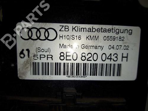 8E0820043HD Climate Control A4 (8E2, B6) 2.5 TDI quattro (180 hp) [2000-2004] AKE 5568453