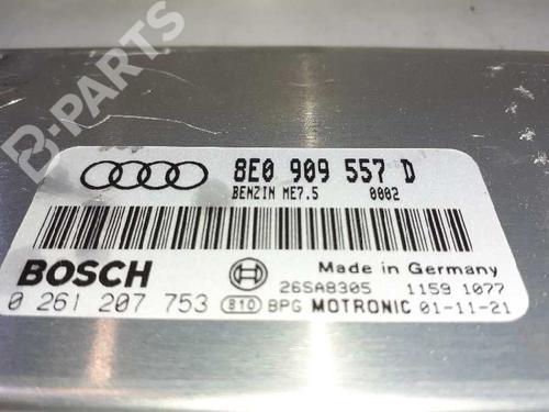 Steuergerät Motor AUDI A4 (8E2, B6) 2.0 8E0909557D 33064104