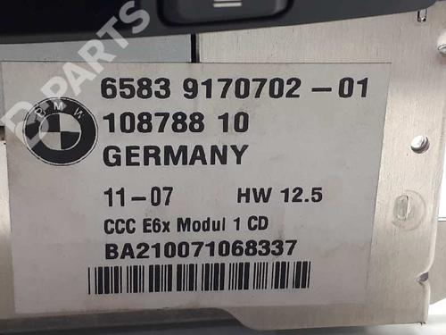 Bilradio BMW 5 (E60) 530 d 65839170702 34192186