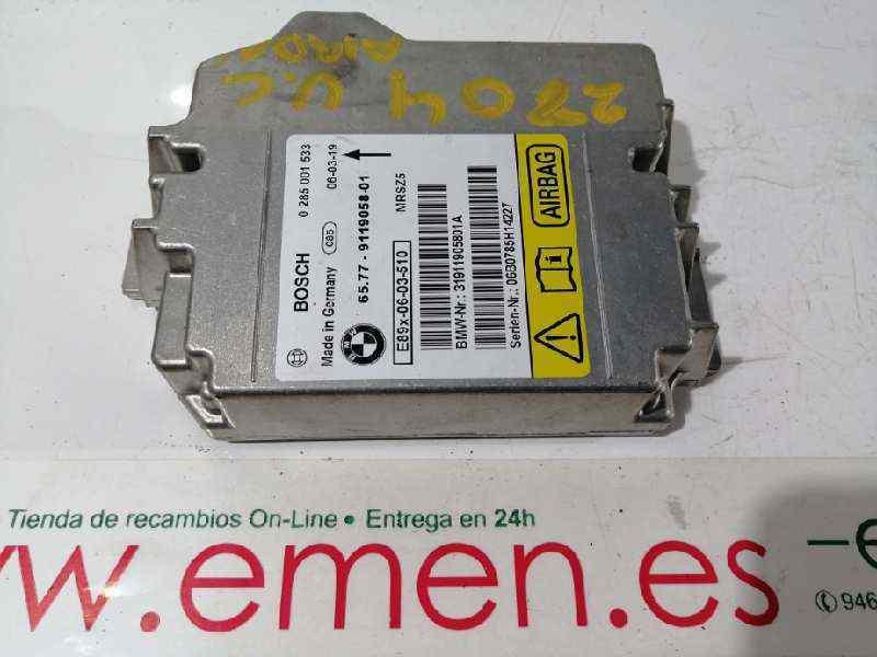 BMW 1 3 SERIES E90 E87 AIRBAG ECU AIR BAG CONTROL MODULE 9119058 65779119058 ...