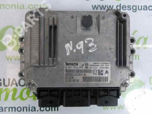 9663268380 | 0281012468 | Motorstyringsenhet XSARA PICASSO (N68) 1.6 HDi (90 hp) [2005-2011]  1879637