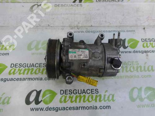 Compressor A/C PEUGEOT 207 (WA_, WC_) 1.6 HDi 9659875780 13452369