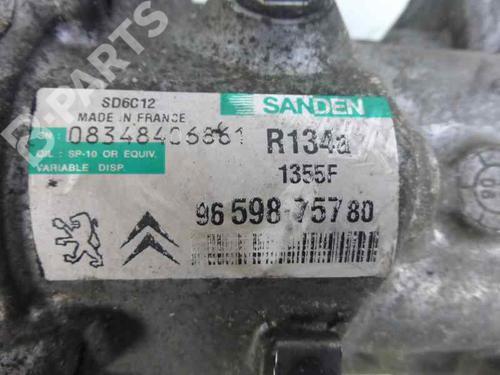 Compressor A/C PEUGEOT 207 (WA_, WC_) 1.6 HDi 9659875780 13452370