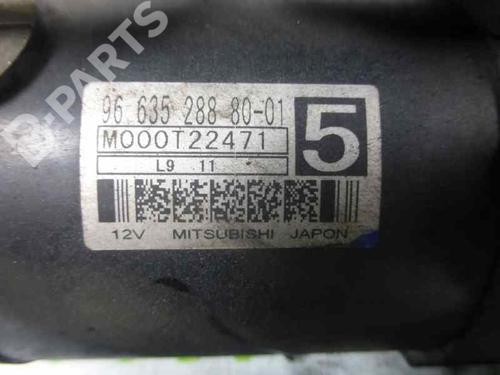 Motor de arranque PEUGEOT 308 I (4A_, 4C_) 1.6 HDi 9663528880 7016267