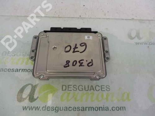 Centralina do motor PEUGEOT 308 I (4A_, 4C_) 1.6 HDi 9664843780 | 9653958980 | 0281013872 | 13446870