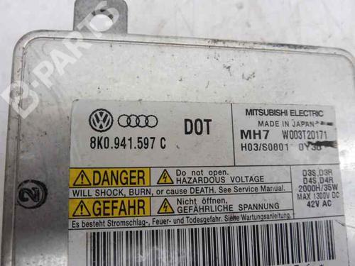 Xenon ballast AUDI A3 Sportback (8PA) 2.0 TDI 8K0941597C | 9359681