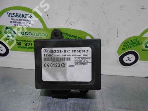 0315455832 | Centralita VITO Van (638) 110 CDI 2.2 (638.094) (102 hp) [1999-2003]  2063702