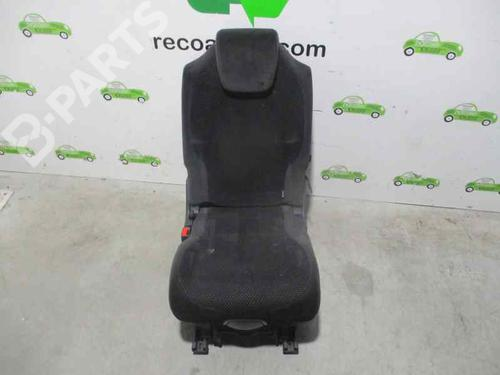 TELA NEGRA | Asientos traseiros C4 Picasso I MPV (UD_) 2.0 HDi 138 (136 hp) [2006-2013]  3471644