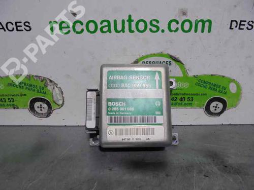 8AO959655 | 0285001085 | BOSCH | Centralina airbags 80 (8C2, B4) 2.3 E (133 hp) [1991-1994]  2111809