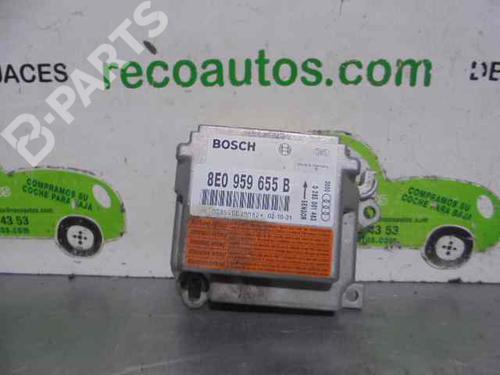 8E0959655B | 0285001483 | BOSCH | Steuergerät Airbag A4 (8E2, B6) 2.0 FSI (150 hp) [2002-2004] AWA 3256228