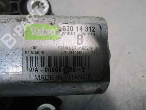 Viskermotor bakrute OPEL VIVARO A Box (X83) 1.9 DTI (F7) 7700311590 | 91165699 | GM | 23497749