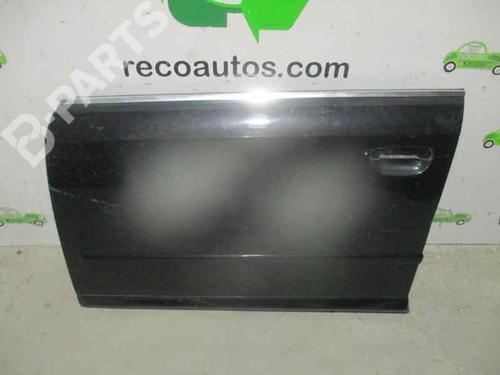 NEGRA | 4 PUERTAS | Left Front Door A4 (8EC, B7) 2.0 TDI 16V (140 hp) [2004-2008] BRE 4603657