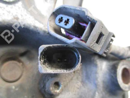 Venstre hjullagerhus spindel AUDI A3 (8P1) 1.9 TDI 1K0435N   30CDP   28064268