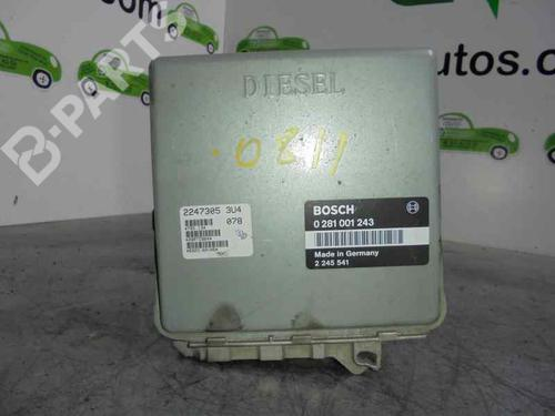 2245541 | 0281001243 | BOSCH | Centralina do motor 3 (E36) 318 tds (90 hp) [1995-1998]  2079392