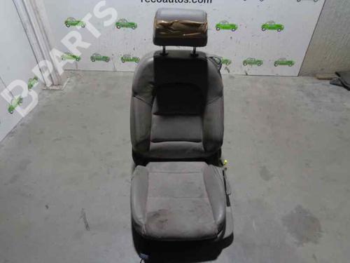 CUERO Y TELA GRIS | Stol venstre foran A3 (8P1) 2.0 TDI 16V (140 hp) [2003-2012] BKD 6050683