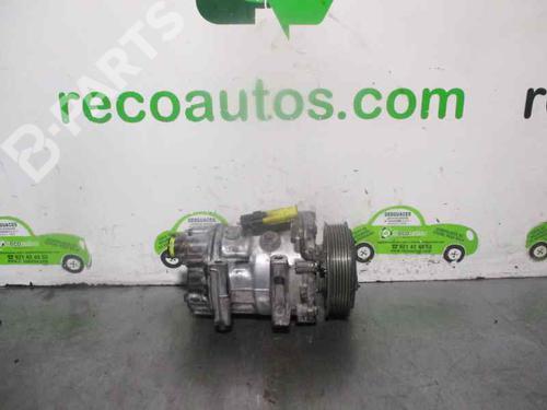 9672867380 | 1817F | SANDEN | Compressor A/C EXPERT Van (VF3A_, VF3U_, VF3X_) 2.0 HDi 120 (120 hp) [2007-2021]  3014670