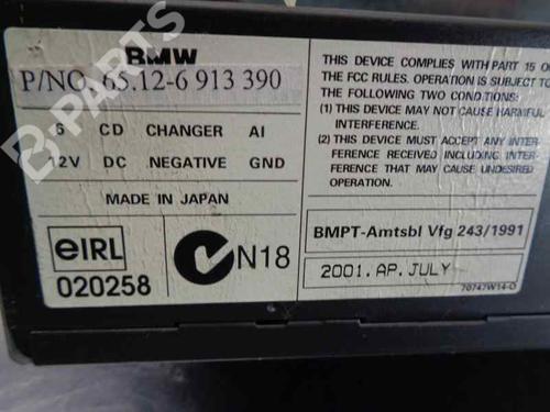 Autoradio BMW X5 (E53) 3.0 d 65126913390 | 34035866