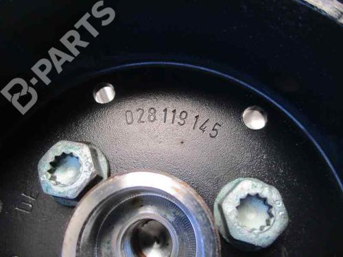 Køleventilator elektrisk AUDI A4 Avant (8D5, B5) 1.9 TDI 058121350   058121301B   058121301B   34472159