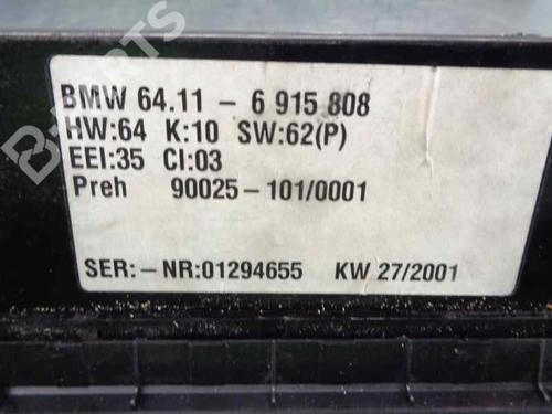 Klimabedienteil BMW X5 (E53) 3.0 d 64116915808 | 34035527