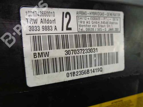 Kopfairbag Links BMW X5 (E53) 3.0 d 347037233031 | 30339883A | 34036337