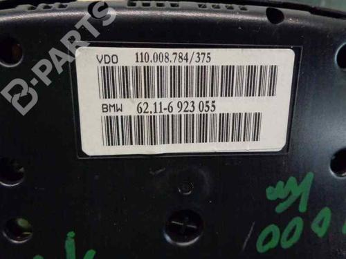 Instrumentenkombination BMW X5 (E53) 3.0 d 62116923055   34035483