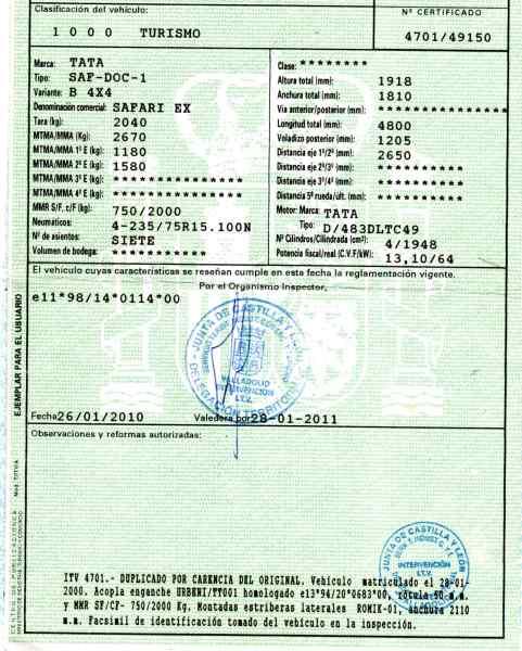 filtre papier Pickup Tata Loadbeta 1994-2006 Filtre à carburant Mann