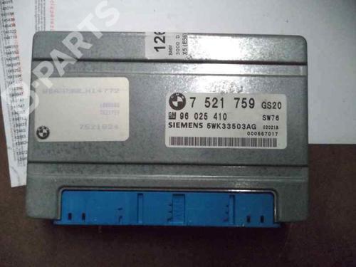7521759 Centralina do motor X5 (E53) 3.0 d (184 hp) [2001-2003]  2249419