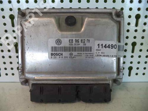 038906012FN Centralina do motor LEON (1M1) 1.9 TDI (90 hp) [1999-2006] AR 33201 2259748