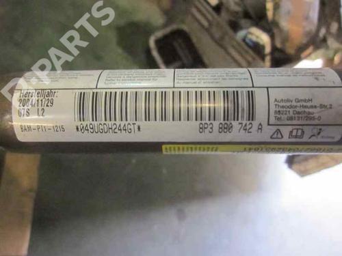 Høyre gardin kollisjonspute AUDI A3 (8P1) 2.0 TDI 16V 8P3880742A | 3P | 19138038