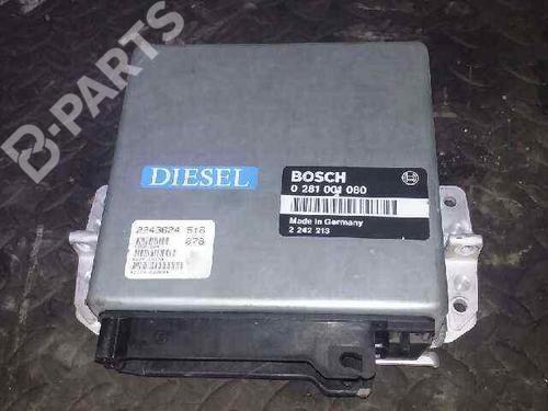 0281001080 | Centralina do motor 5 (E34) 524 td (115 hp) [1988-1991]  2372980