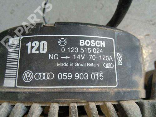 Generator AUDI A4 (8EC, B7) 2.5 TDI 0123515024   120A   BOSCH   20042880