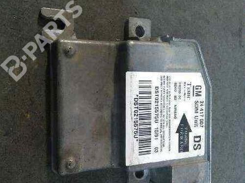 24417007   Kollisjonspute styreenhet CORSA C (X01) 1.2 (F08, F68) (75 hp) [2000-2009] Z 12 XE 2385834