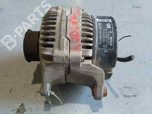 Generator AUDI A4 (8EC, B7) 2.5 TDI 0123515024   120A   BOSCH   20042878