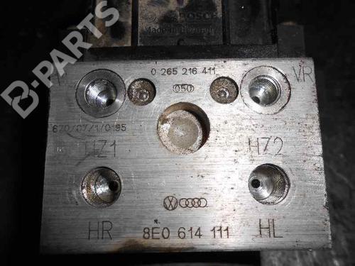 8E0614111 | 0265216411 | 0273004132 | ABS Bremseaggregat A4 (8D2, B5) 1.8 (125 hp) [1994-2000] ADR 2401617