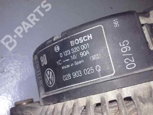 Generator AUDI A4 (8D2, B5) 1.9 TDI 028903025Q | ELISUR | 20038572