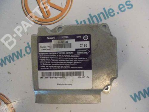 60683300 | 5WK43444 | C100 | Calculateur Airbags GT (937_) 1.9 JTD (937CXN1B) (150 hp) [2003-2010] 937 A5.000 2492110