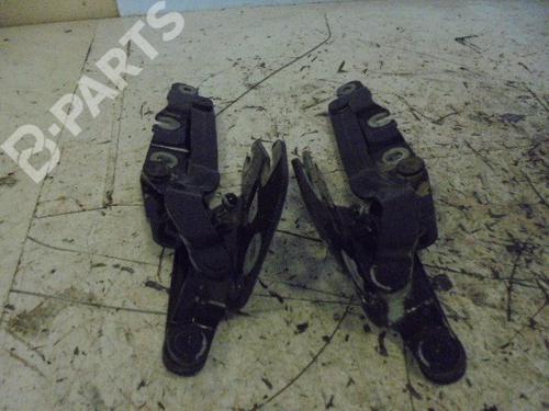 Bagklap lås AUDI A6 (4B2, C5) 2.5 TDI 4B5827301F | 4B5827302F | 34540776