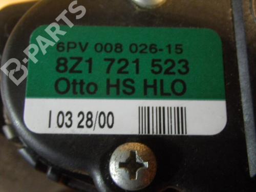 Pedal AUDI: 8Z1721523 AUDI, A2 (8Z0) 1.4(4 doors) (75hp), 2000-2001-2002-2003-2004-2005 20692710